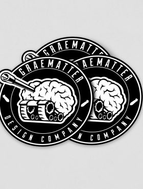 GRAEMATTER sticker pack