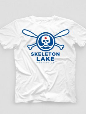 Skeleton Lake T shirt