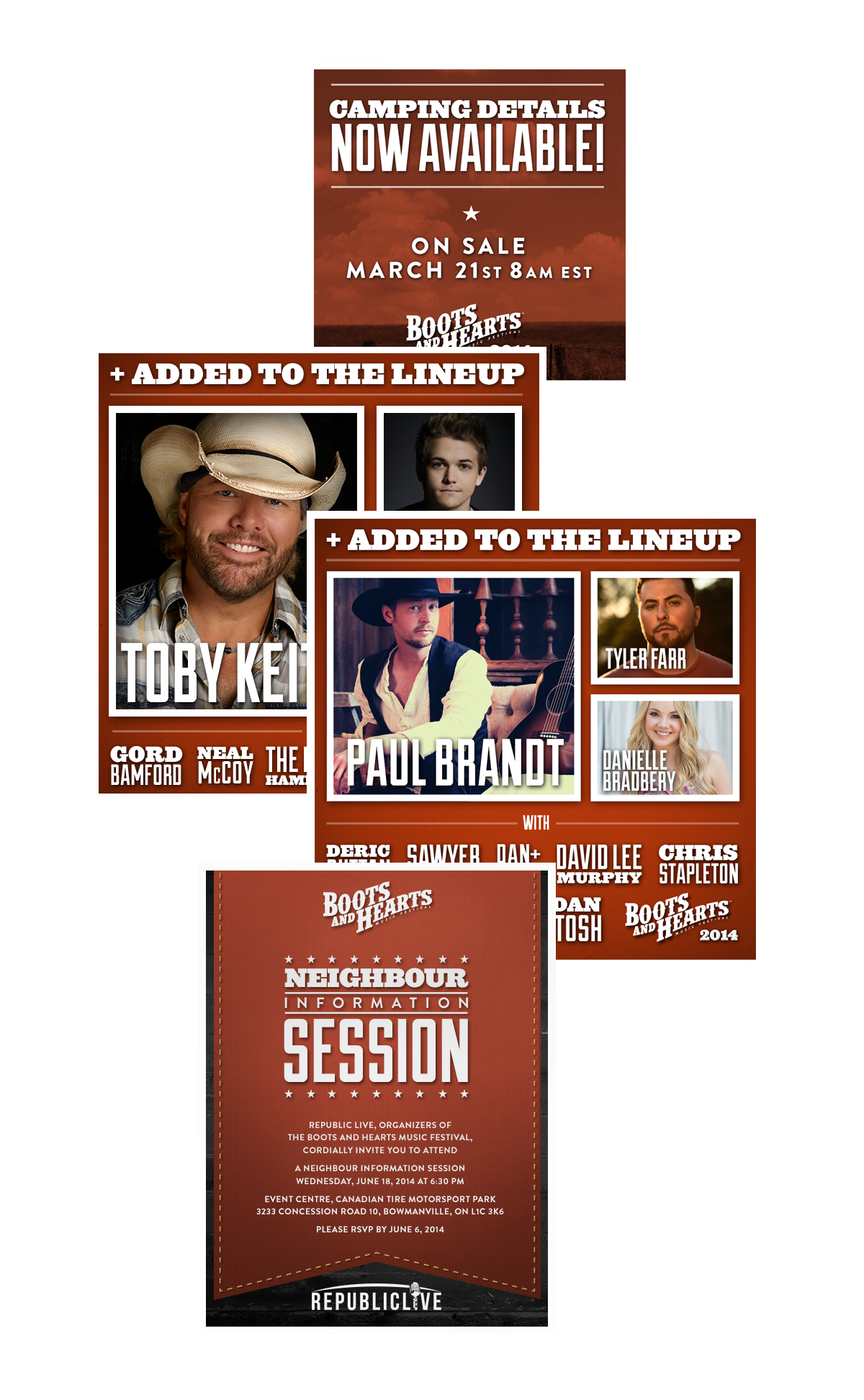 Boots and Hearts Promos