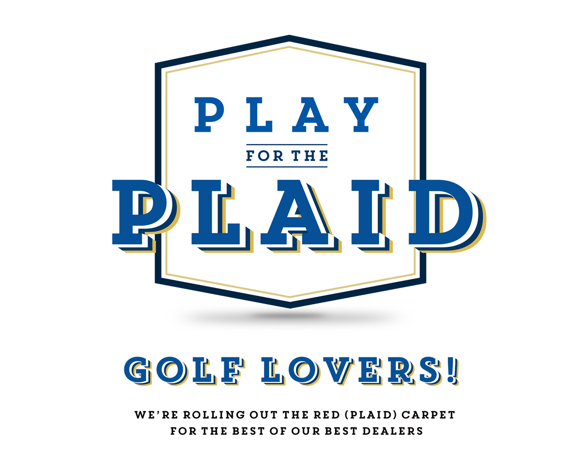 RBC Play for the Plaid Logo