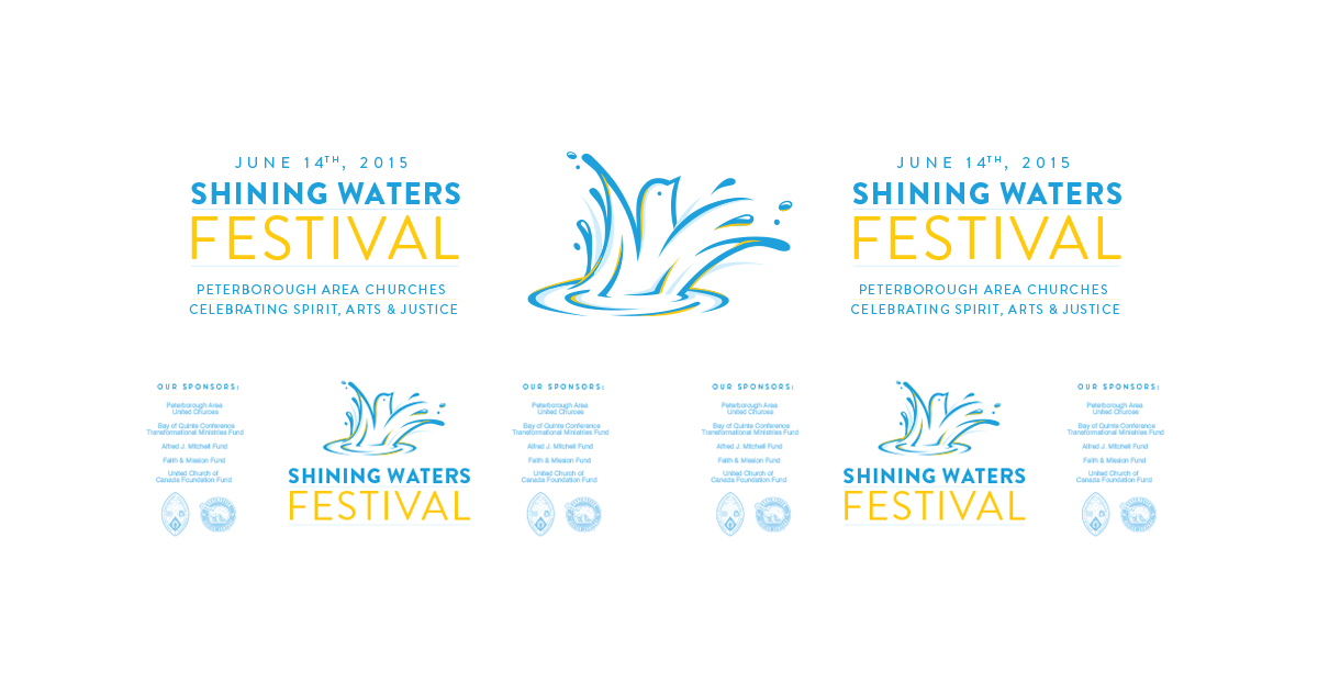 Shining Waters Banners