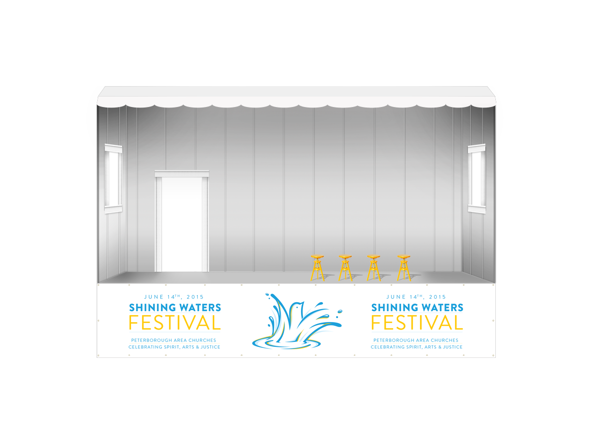 Shining Water Stage Mock-up
